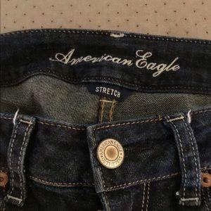 Gently worn American Eagle skinny jeans.